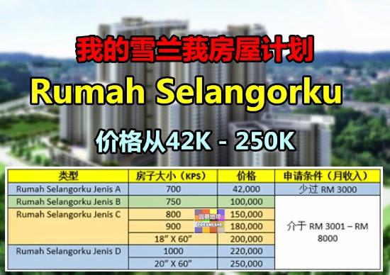 Rumah Selangorku Jenis C Ceria K4