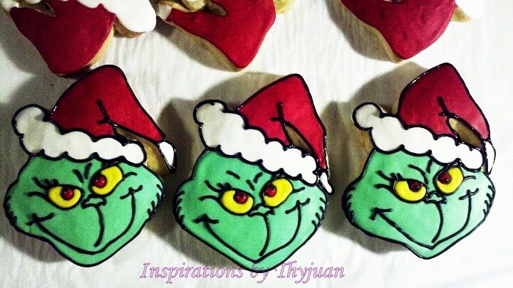 Inspirations By Thyjuan Llc Grinch Cookies