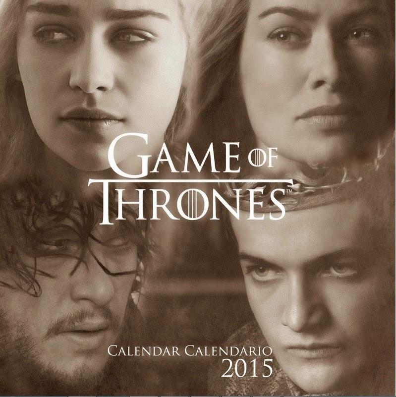 Calendario 2015 Juego de Tronos