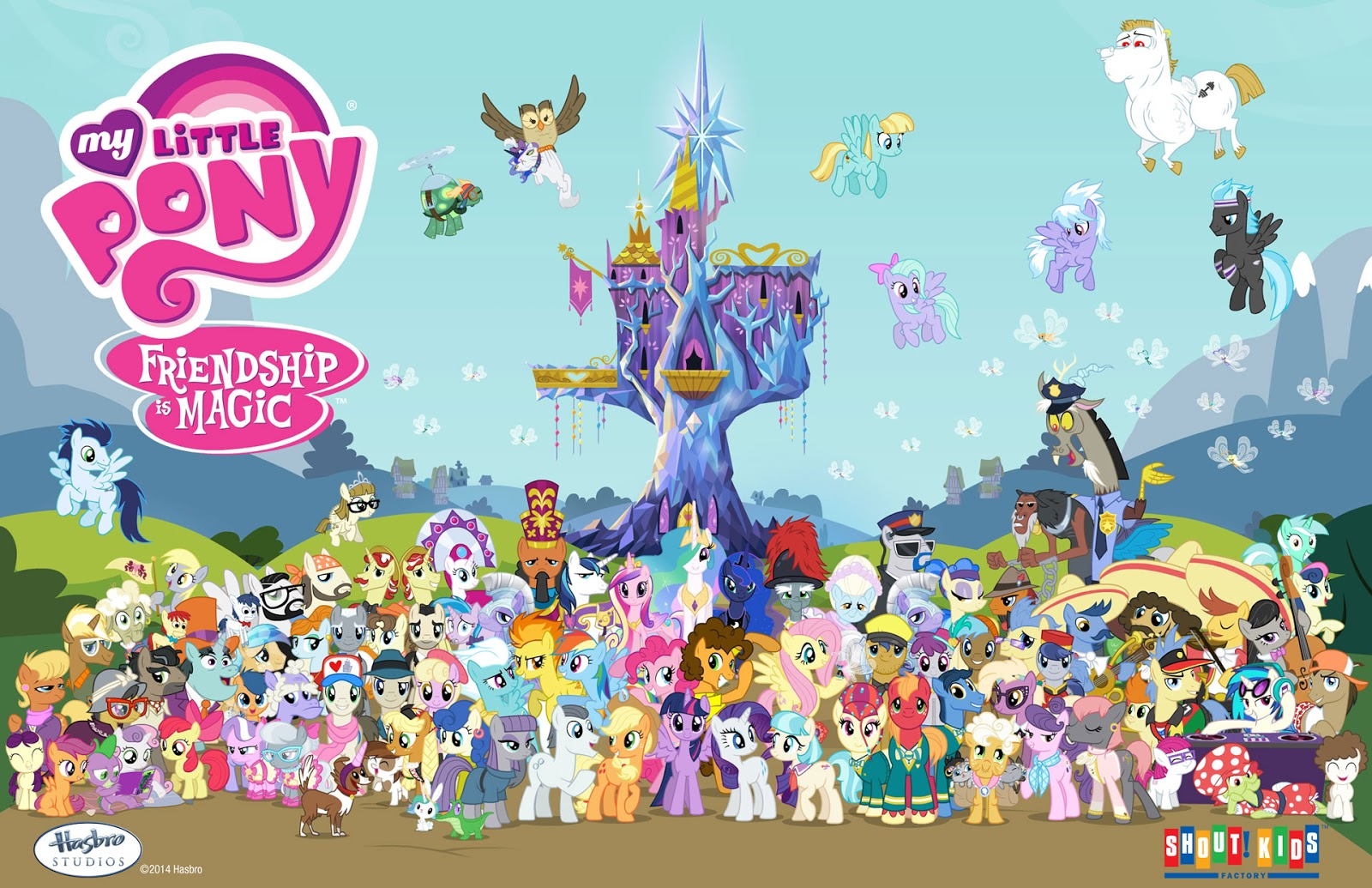 Equestria Daily - MLP Stuff!: Season 4 Character Poster ...