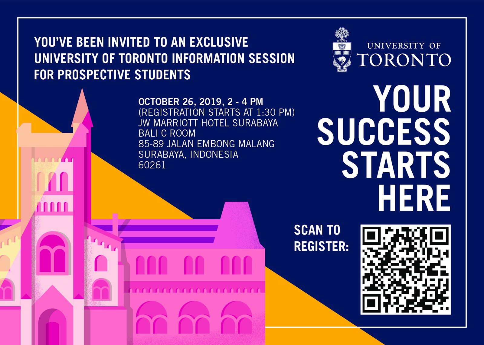 Info Session: Univ of Toronto @SURABAYA