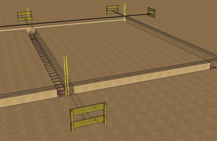 ferraillage fondations explications images 3d. Black Bedroom Furniture Sets. Home Design Ideas