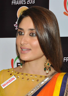 Kareena Kapoor in lovely Transparent Yellow Saree HQ Pics Must See