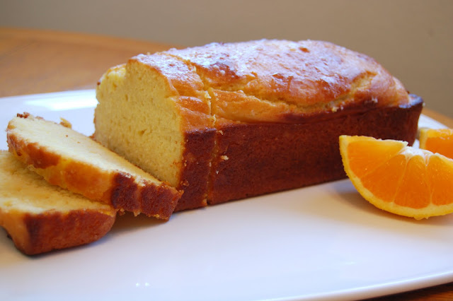 Project Bake: Orange Yogurt Loaf Cake.