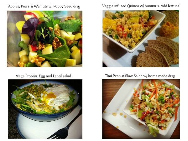 whats on your salad, salad creations, healthy eating inspiration, salad ideas, salad recipe