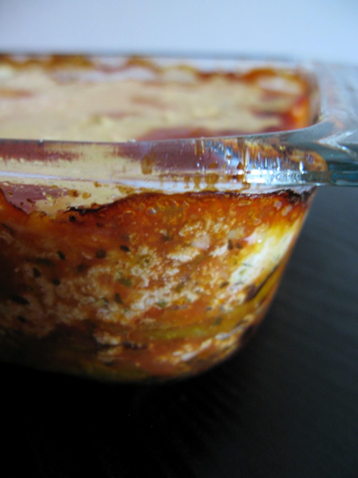 Tortillas and Honey: Eggplant Ricotta Bake