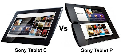 Sony S Vs Sony P : Comparison of upcoming Tablets
