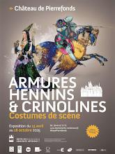 Actu expos / Armures, hennins et crinolines. Costumes de scène