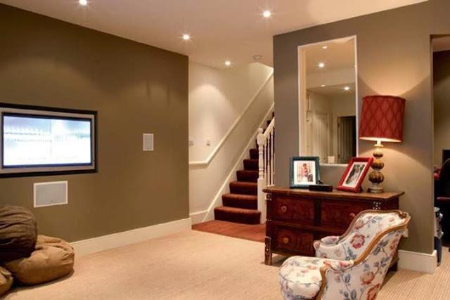 most popular paint colors for basements