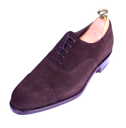 ZAPATO OXFORD QUARTER-BROGUE DE CARMINA