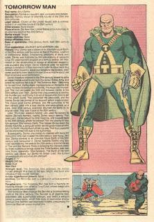 Hombre del Mañana (ficha marvel comics)