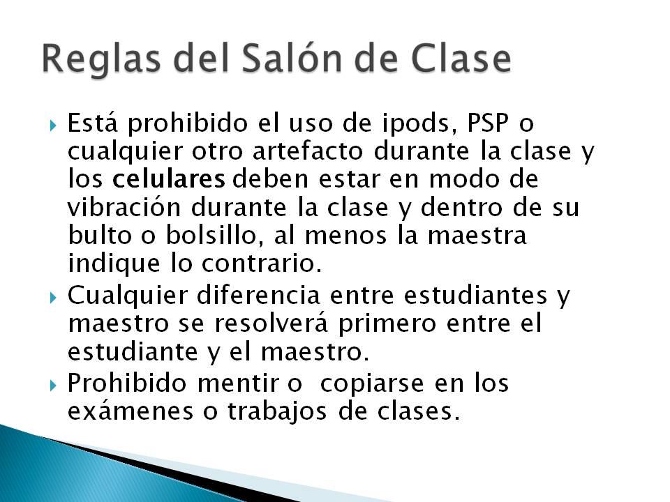 Aventuras matematicas 10 e2 reglas del salon for 5 reglas del salon de clases