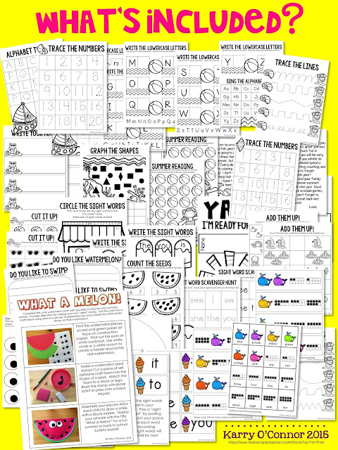 https://www.teacherspayteachers.com/Product/Kindergarten-Readiness-Packet-preschool-pre-k-kindergarten-summer-practice-1949300