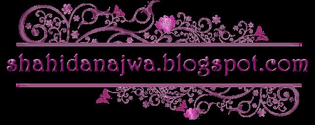shahidanajwa.blogspot.com, header cantik, header murah