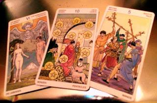 Tirada de 3 cartas para Capricornio Diciembre 2012