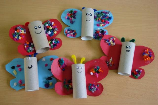 Giocabosco: creare con Gnomi e Fate: Lavoretti con i tubi della carta