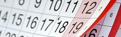 Calendario de Torneos: