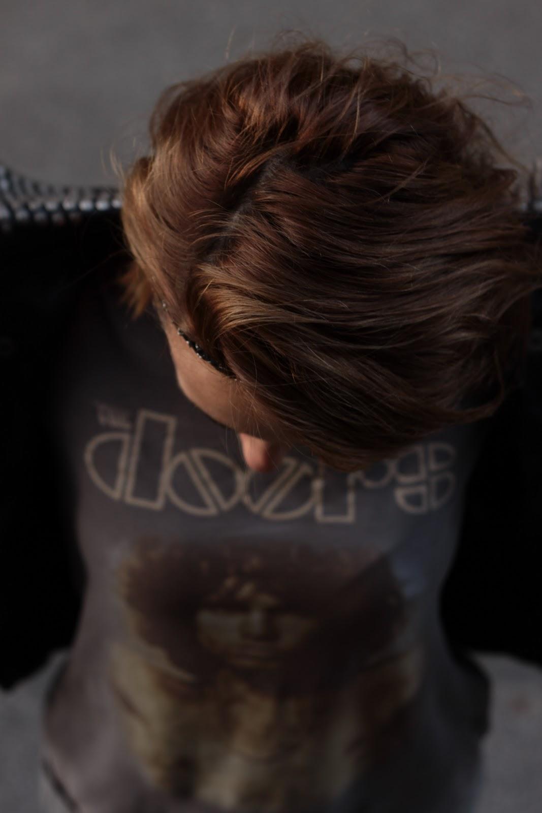idée coiffure headband