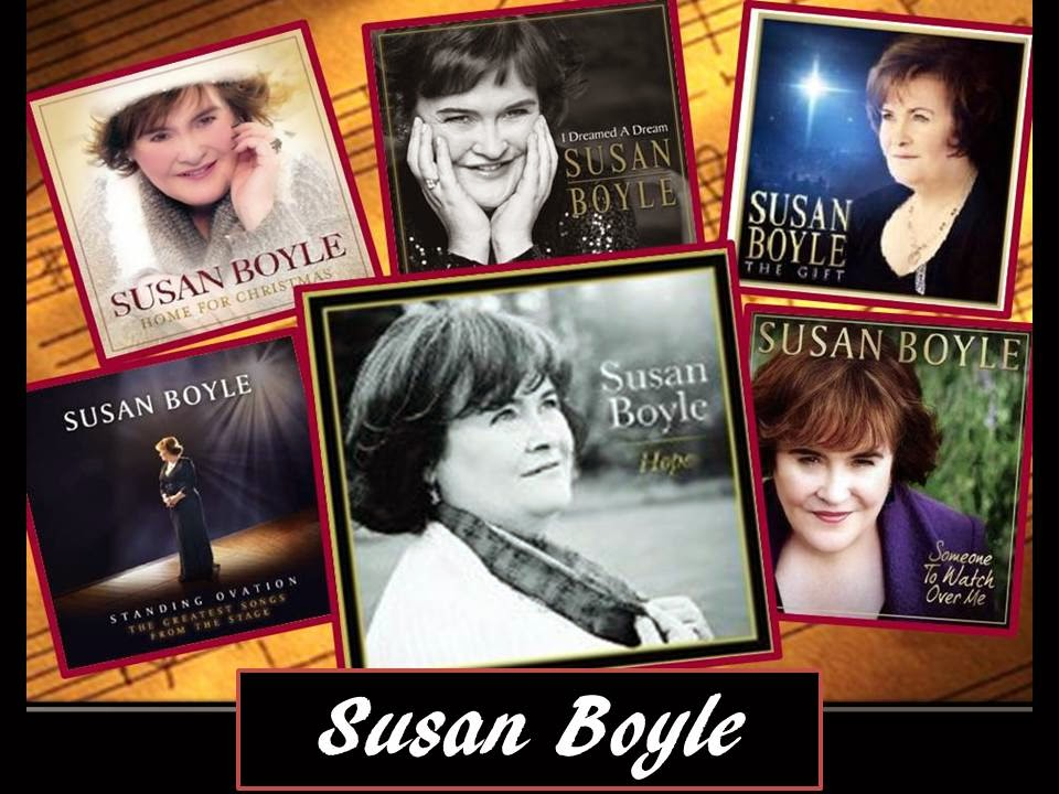 Susan Boyle's 6 CD
