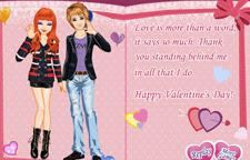 Valentine Love Card | Toptenjuegos.blogspot.com