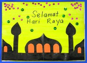 Image Result For Hari Raya Cards