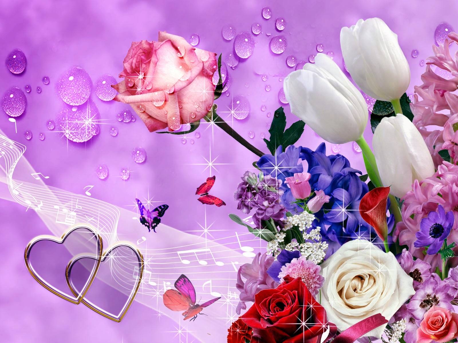 Wallpapers beautiful flowers wallpapers download free for desktop pc fresh flowers background izmirmasajfo
