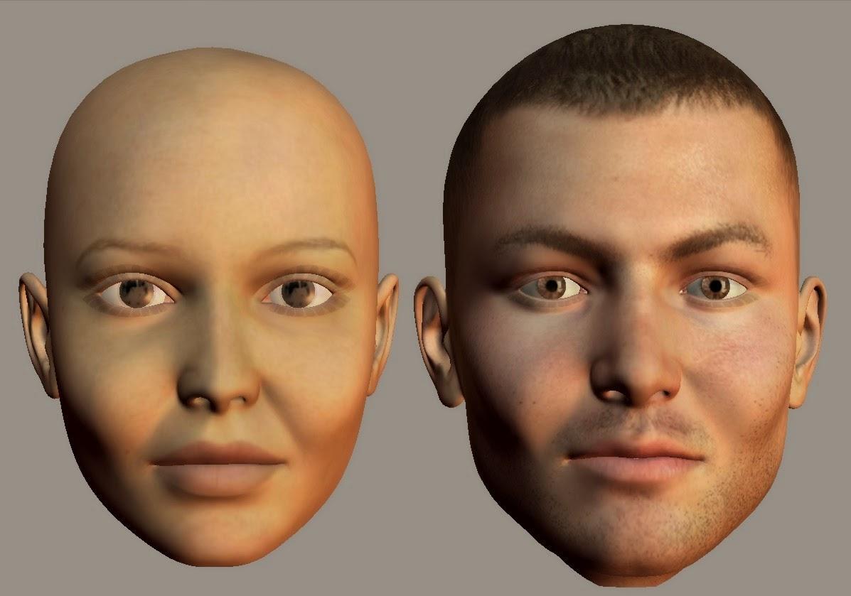 Deep Cheeks Face type (enface)