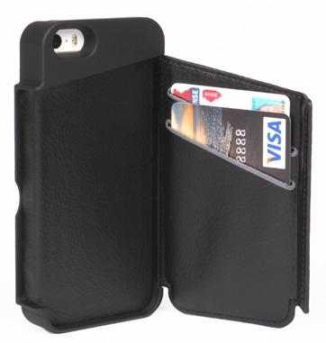 a wallet and a phone case in one, hidden wallet for security and convenience