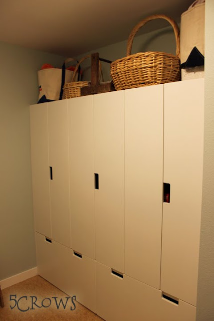 children's furniture as pantry storage