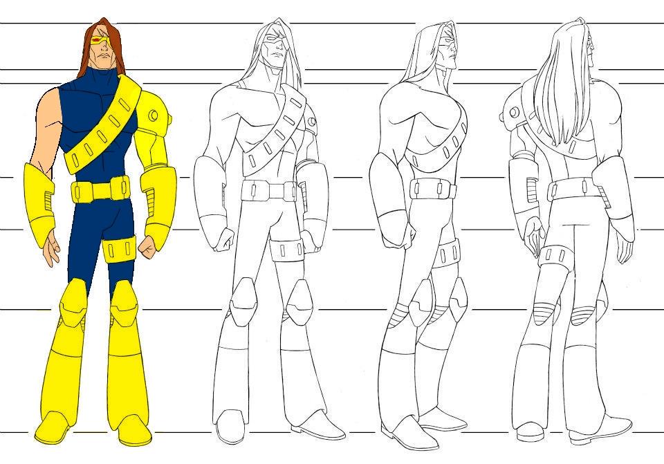 Desenhos do X Men para colorir Desenhos para colorir