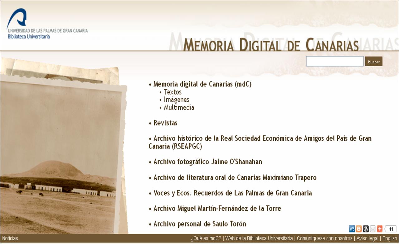 10 años con Memoria Digital de Canarias