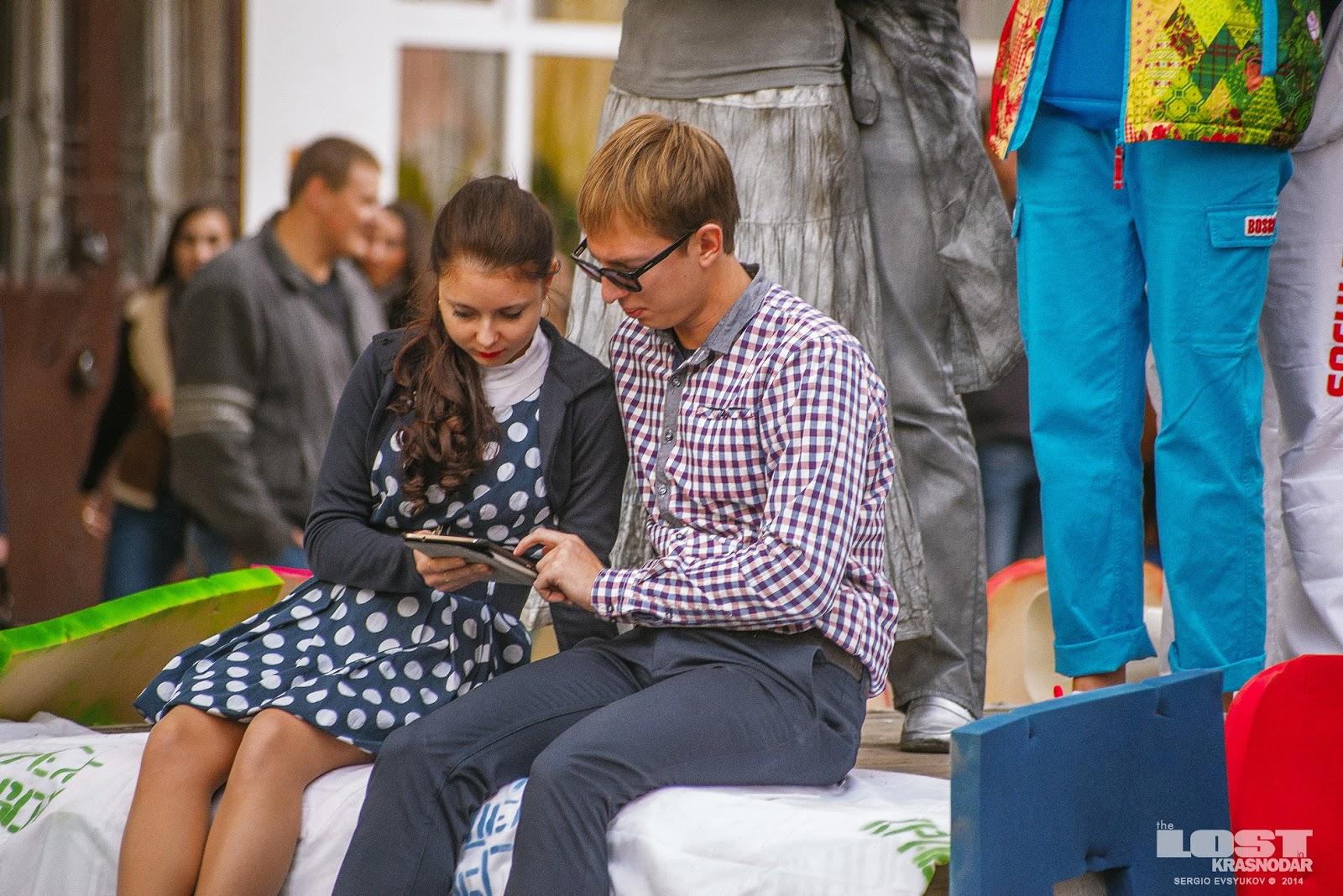 Парад студентов в Краснодаре