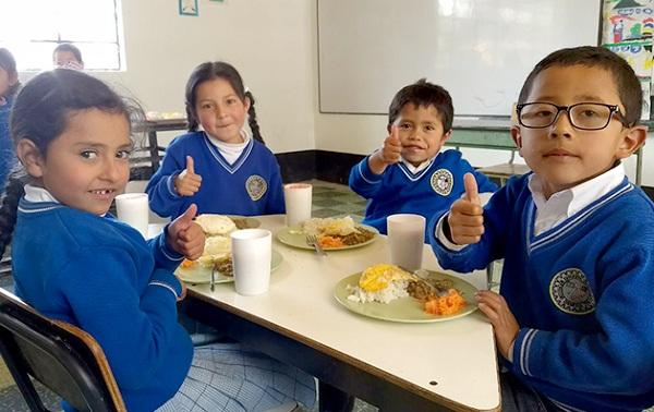 Boyacá, ejemplo nacional en ejecución del programa de Alimentación Escolar