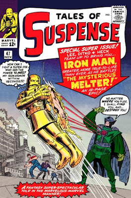 Tales of Suspense #47, Iron Man v the Melter