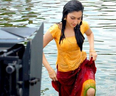 Tamanna Bhatia Hot and Wet Pics