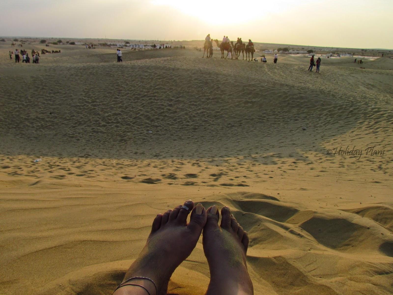 Thar Desert-Camels