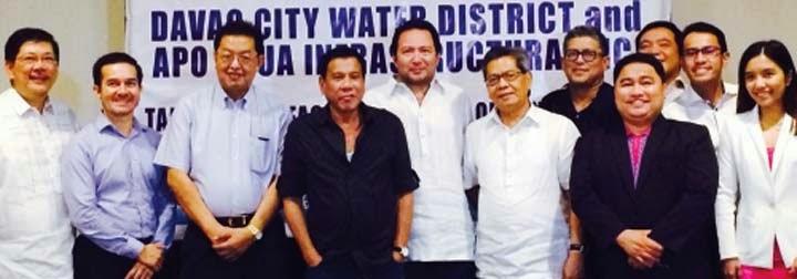 Southerndc Aboitiz Jv Signs P10 B Bulk Water Agreement With Davao