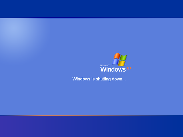WINDOWS XP SE REINICIA AL QUERER APAGARLO