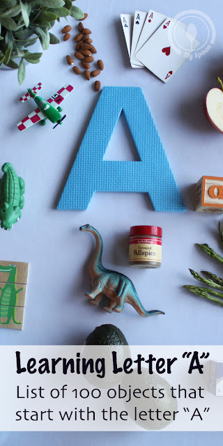 Big list of objects that start with the letter A