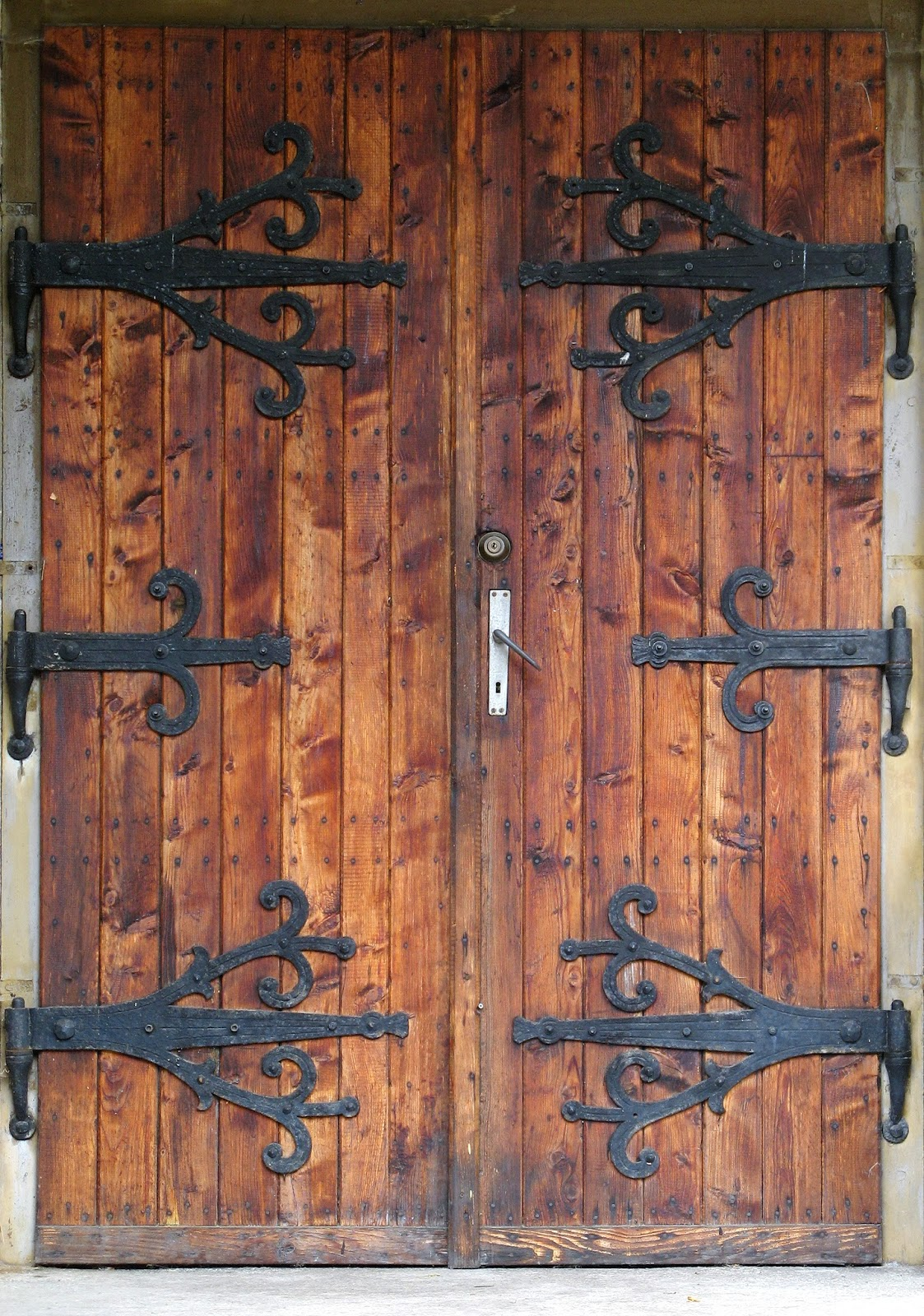 The Estate Agent Placed The Large, Old Looking, Brass Key In The Lock And,  With Some Difficulty, Turned It. He Pushed Open The Heavy Door Which Issued  A ...