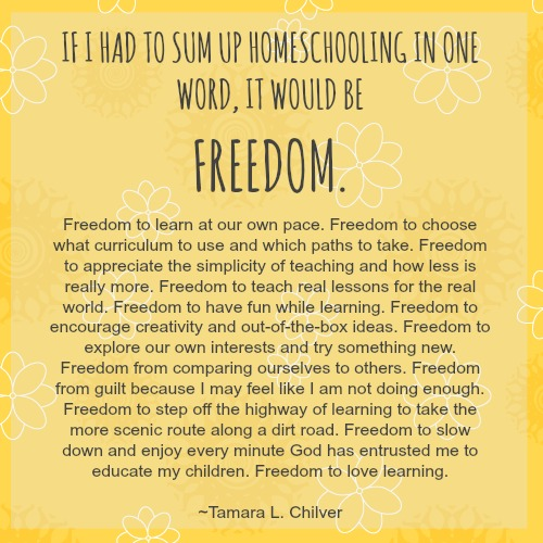 homeschool quote