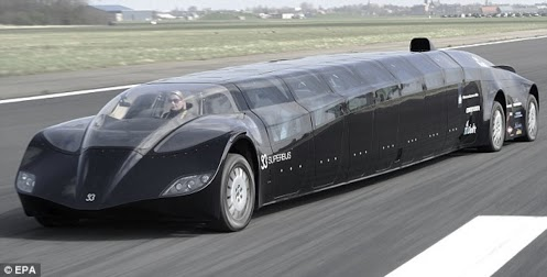 superbus dubai - Lamborghini Egoista Police