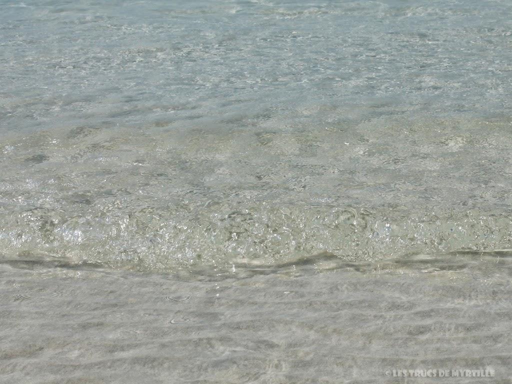 Fond d'écran #2 de JUILLET 2014, avec et sans le calendrier du mois - Dubaï, plage (photo février 2014)