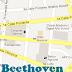 Fuentes Beethoven en la noche, San Salvador