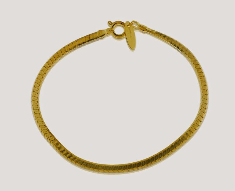 Magnolia Jewellery 14K gold plated dainty bracelet