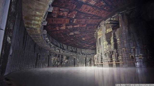 Base de misiles abandonada de la antigua URSS