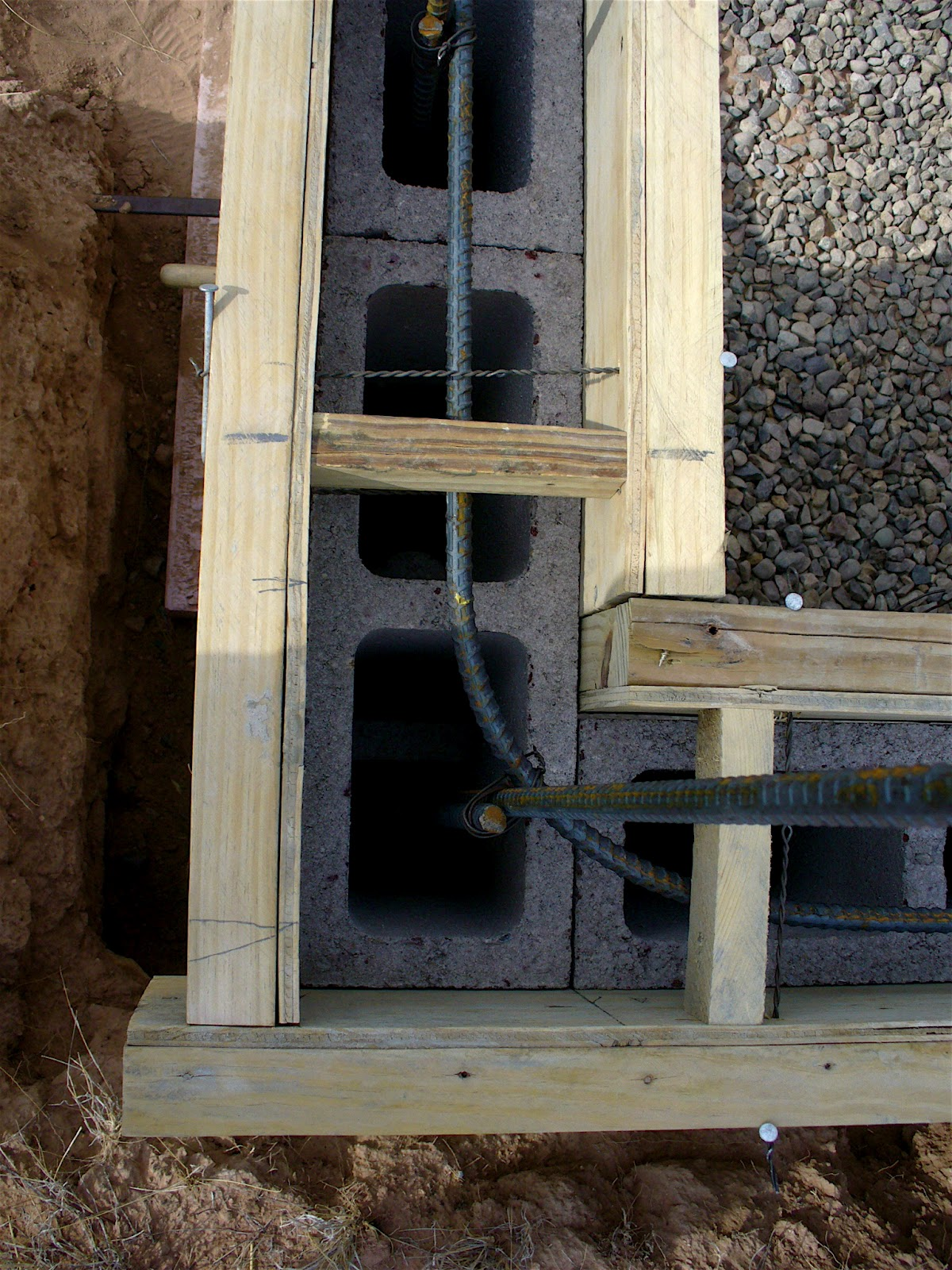 Alt Build Blog Building A Well House Dry Stack Cement Block