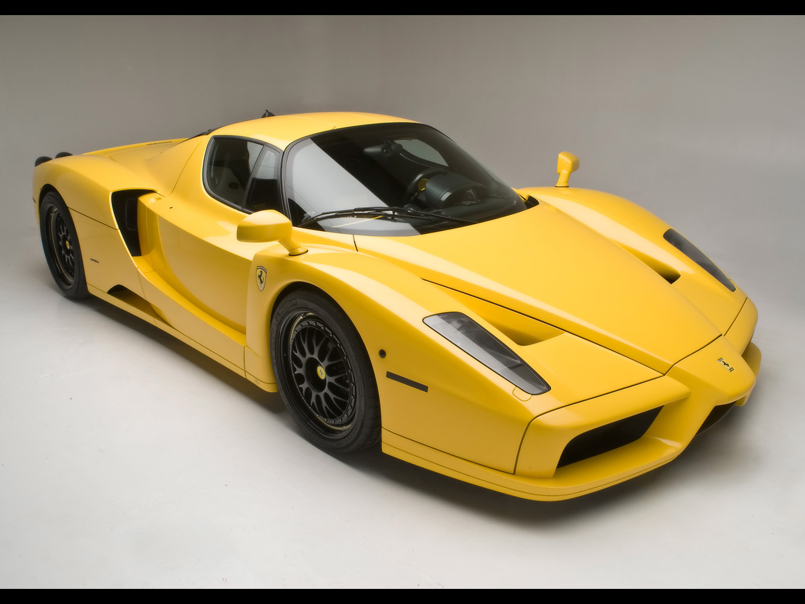Yellow Ferrari Enzo Wallpaper