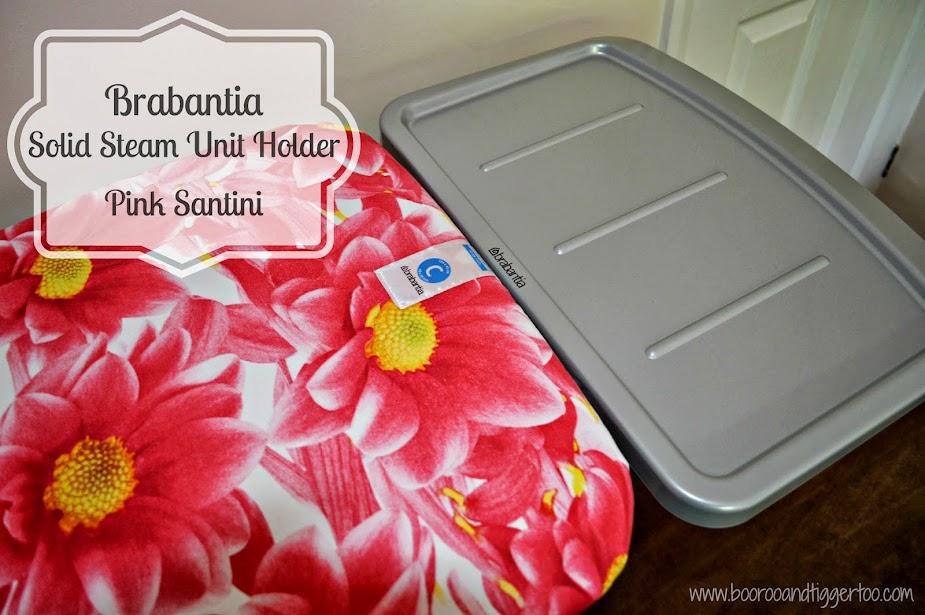 Brabantia Pink Santini Solid Steam Unit Holder Ironing Board