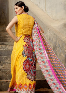 Embroidered-Long-Kameez 2013-14